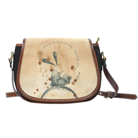 The Reading Rabbit Saddle Bag-For Reading Addicts