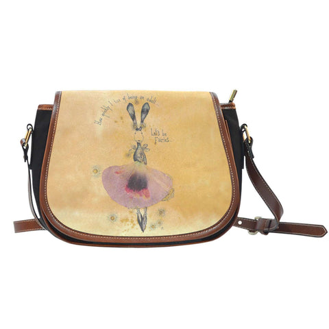 Let's Be Fairies Saddle Bag-For Reading Addicts