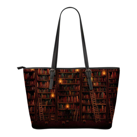 Bookshelves Tote Bag-For Reading Addicts