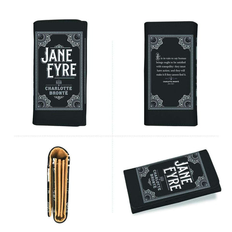 """Jane Eyre""Book Cover Womens Wallet"