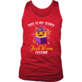 """Bookworm costume"" Men's Tank Top"