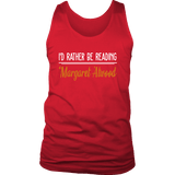 """I'd Rather Be reading MA"" Men's Tank Top"