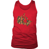 """Canada Bookish Map"" Men's Tank Top"