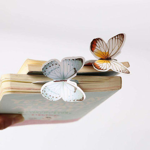 14PCS Bookmark Butterfly Style Bookmarks-For Reading Addicts
