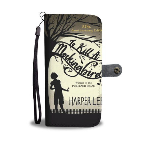 """To kill a mockingbird"" wallet case - Gifts For Reading Addicts"
