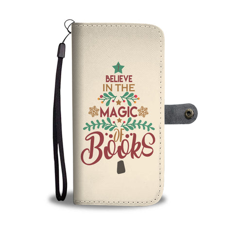 """The magic of Books""wallet case - Gifts For Reading Addicts"