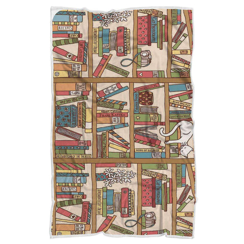 bookshelf blanket - Gifts For Reading Addicts