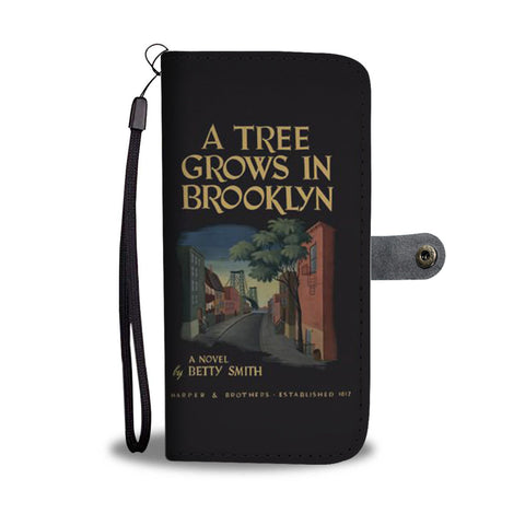 A tree grows in brooklyn wallet case - Gifts For Reading Addicts