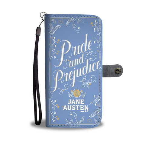 pride and prejudice wallet case - Gifts For Reading Addicts