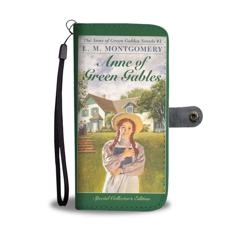 Anne of green gables wallet case - Gifts For Reading Addicts