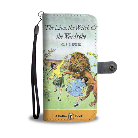 The lion,the witch and the wardrobe wallet case - Gifts For Reading Addicts