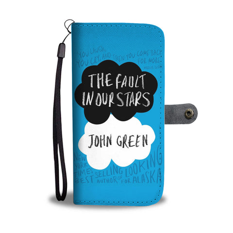 The fault in our stars wallet case