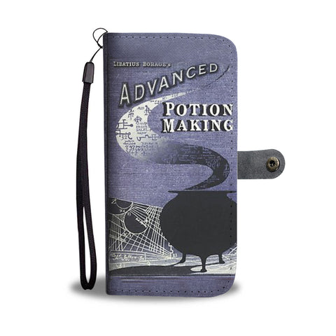 Advanced potion making wallet case - Gifts For Reading Addicts