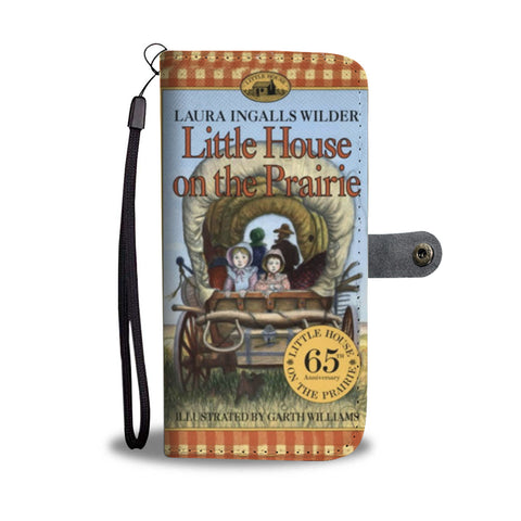 little house on the prairie wallet case