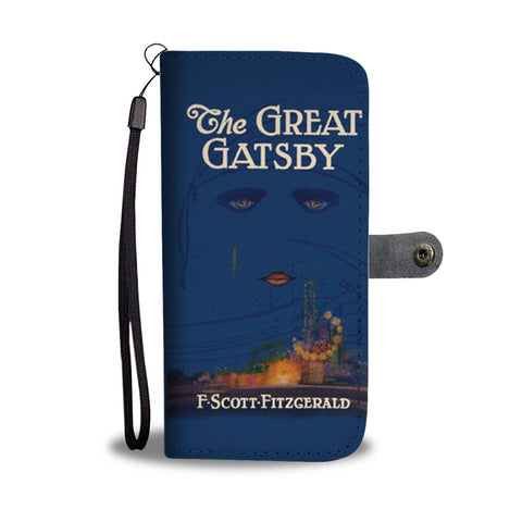 The great gatsby wallet case - Gifts For Reading Addicts