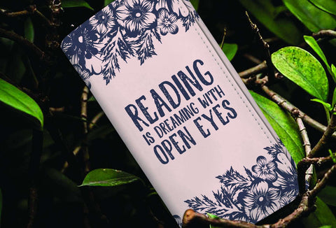 """Reading Is Dreaming""Women Wallet - Gifts For Reading Addicts"