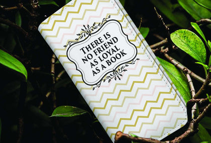 """Loyal As A Book""Womens Wallet - Gifts For Reading Addicts"