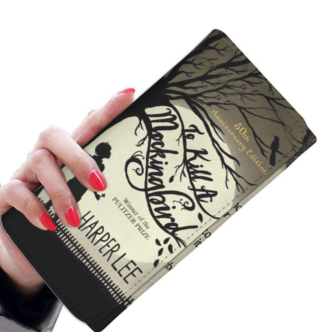 """To Kill A Mockingbird""Womens Wallet - Gifts For Reading Addicts"