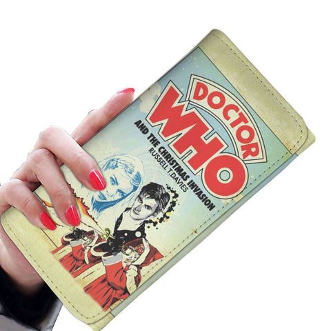 """Doctor Who""Womens Wallet - Gifts For Reading Addicts"