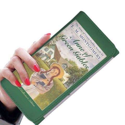 """Anne Of Green Gables""Womens Wallet - Gifts For Reading Addicts"