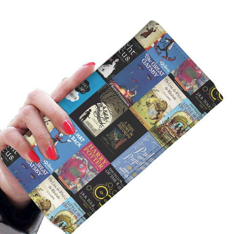 Book Covers Womens Wallet - Gifts For Reading Addicts