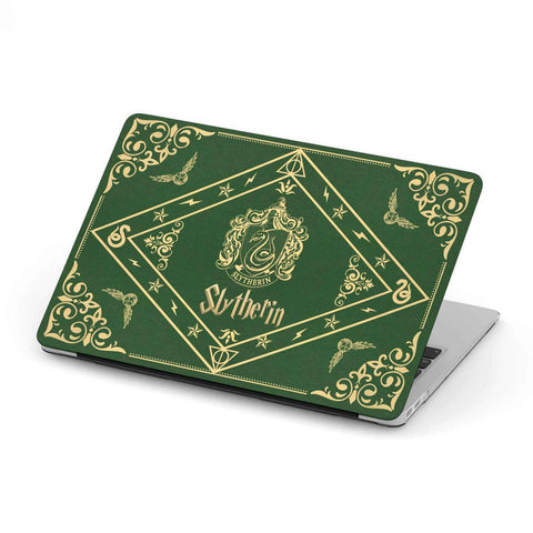 """Slytherin""MacBook Case - Gifts For Reading Addicts"
