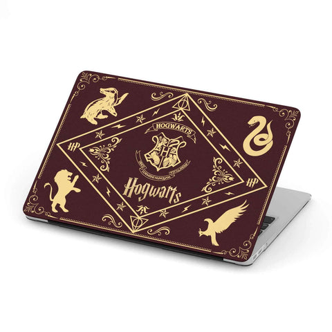 """Hogwarts""MacBook Case - Gifts For Reading Addicts"