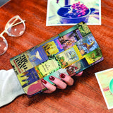 """Madeleine L'Engle books""Book Covers Womens Wallet"