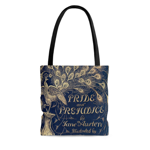 Pride And Prejudice Book Cover Tote Bag - Gifts For Reading Addicts