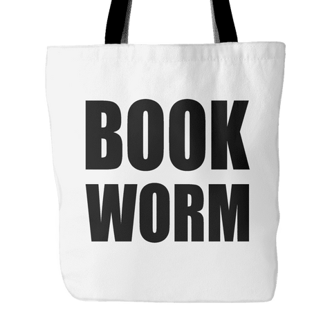 book worm tote bag-For Reading Addicts