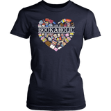 """I am a bookaholic"" Women's Fitted T-shirt - Gifts For Reading Addicts"