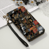 """Lord Of The Rings""Men and Women's PU Leather Wallet around Long Clutch Purse"
