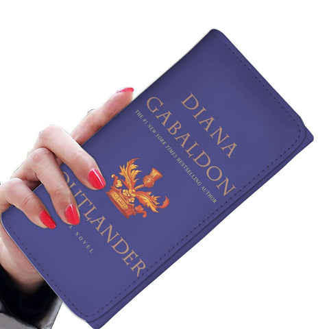 """Outlander""Blue Book Cover"