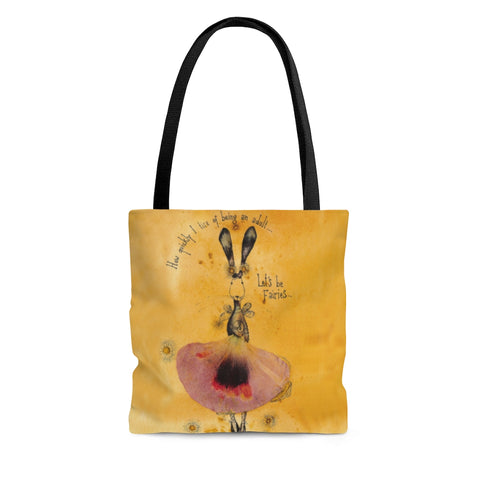 Let's Be Fairies Tote Bag - Gifts For Reading Addicts