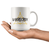 """Whorecrux""11oz White Mug"