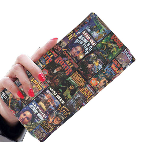 """Honor Harrington""Book Covers Womens Wallet"