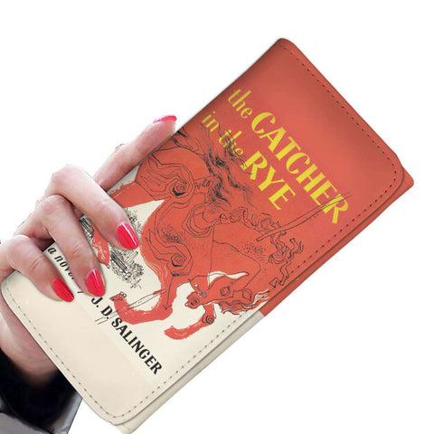 """The Catcher In The Rye""Book Cover Womens Wallet."