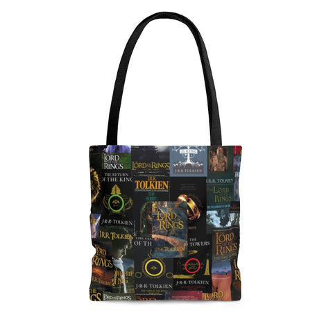 The Lord Of The Rings book Covers Tote Bag - Gifts For Reading Addicts