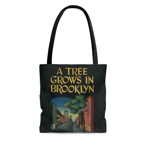A Tree Grows In Brooklyn Book Cover Tote Bag - Gifts For Reading Addicts