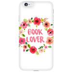 Book Lover Floral Phone Case-For Reading Addicts