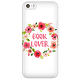 Book Lover Floral Phone Case - Gifts For Reading Addicts