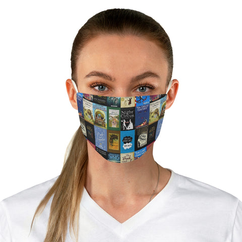 Book Covers Fabric Face Mask - Gifts For Reading Addicts