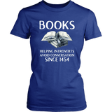 """Books"" Women's Fitted T-shirt"