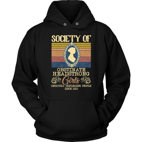 """Obstinate Headstrong Girls"" Hoodie - Gifts For Reading Addicts"