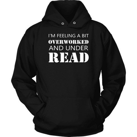 """Under Read"" Hoodie-For Reading Addicts"