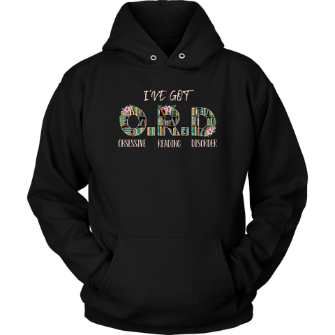 """I've Got O.R.D"" Hoodie - Gifts For Reading Addicts"