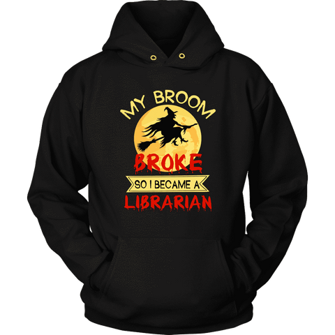 """I Became A Librarian"" Hoodie"
