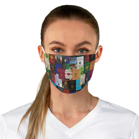 Outlander Book Covers Fabric Face Mask - Gifts For Reading Addicts
