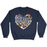 """I am a bookaholic"" Sweatshirt"
