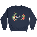 """Time to Read"" Sweatshirt"